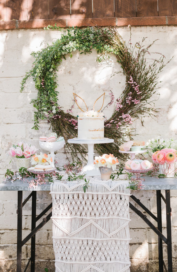 Easter Brunch Floral Inspiration