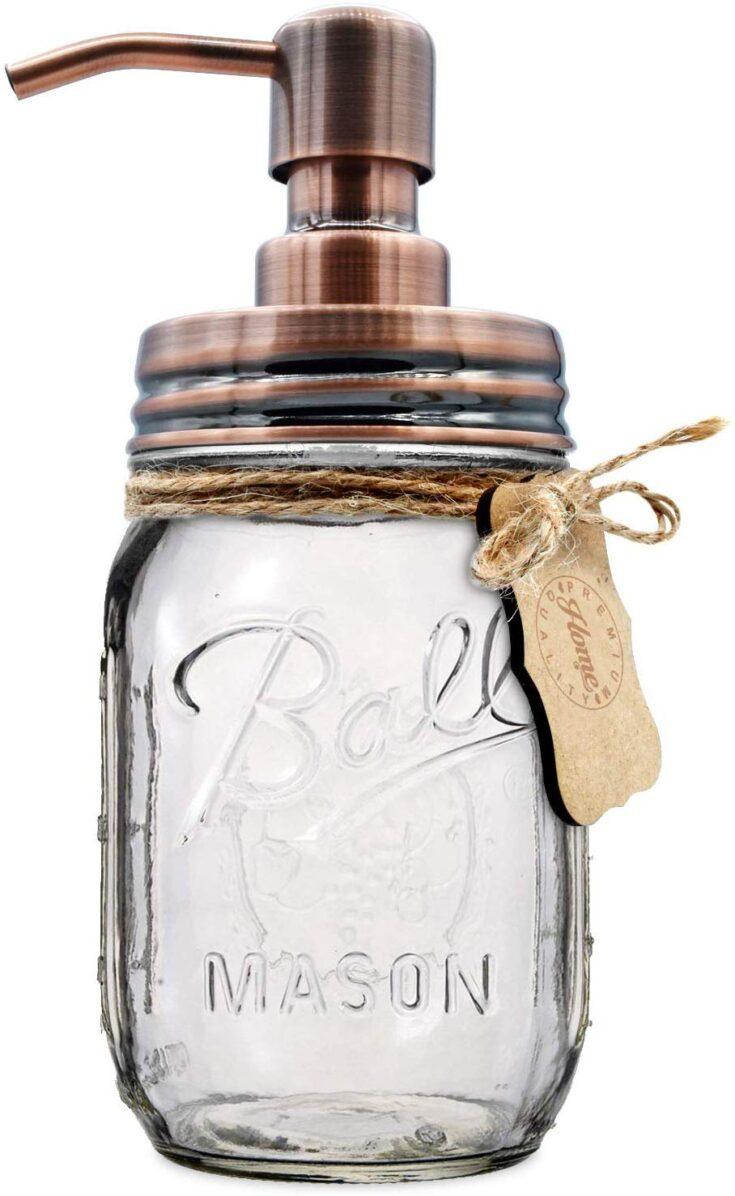 Mason Jar Soap or Lotion Dispenser