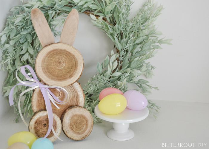 DIY Scrap Wood Bunny