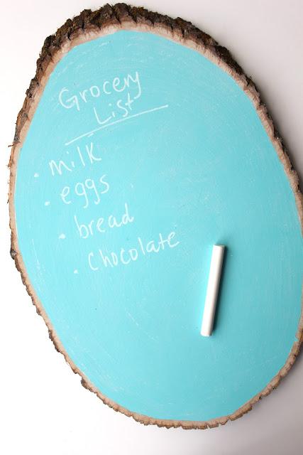 Rustic Chalkboard Easter Eggs
