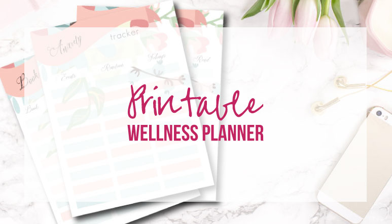 Printable Wellness Planner