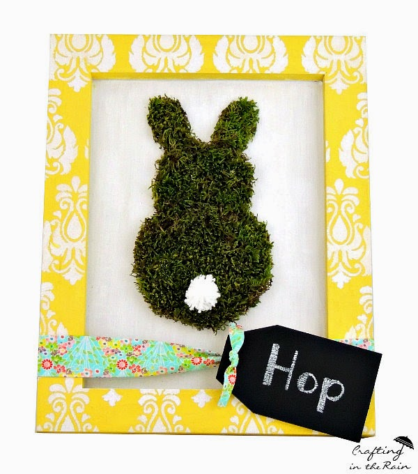 Moss Bunny for Craft Warehouse