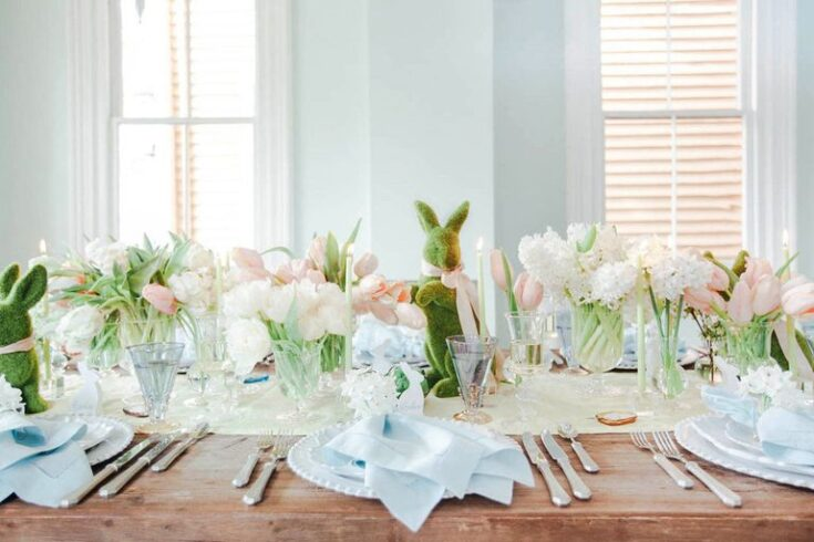 Classy Easter Table