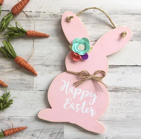 Rustic Easter Door Hanger