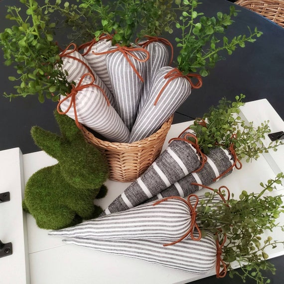 Spring Fabric Carrots