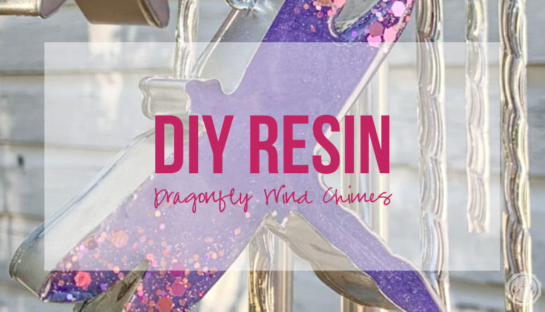 DIY Resin Dragonfly Wind Chimes