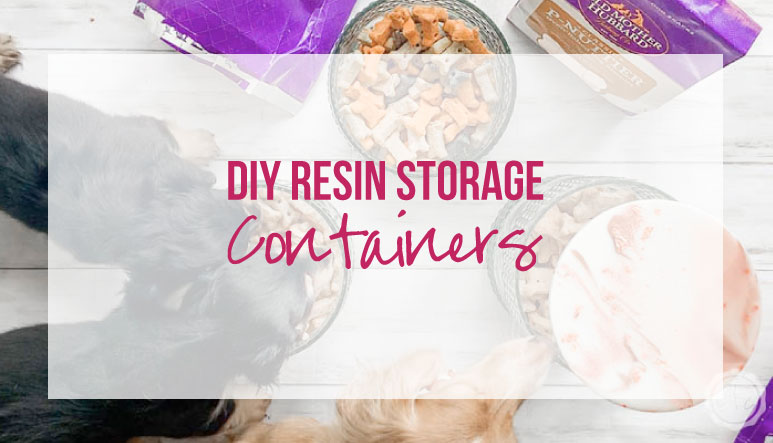 DIY Resin Storage Containers