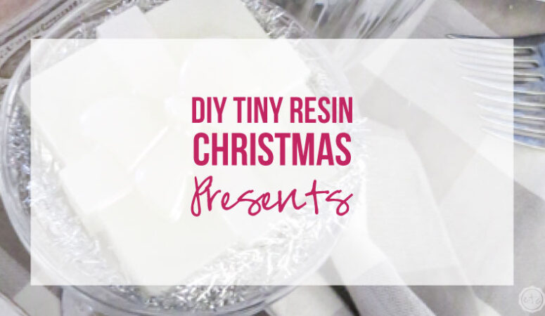DIY Tiny Resin Christmas Presents