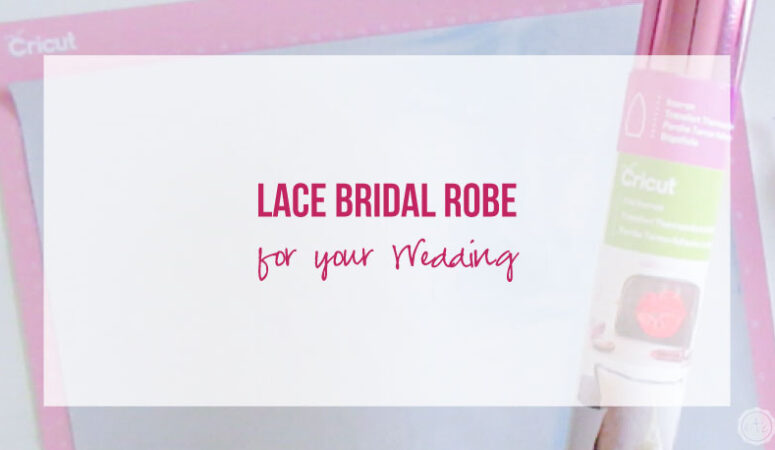 DIY Lace Bridal Robe for your Wedding