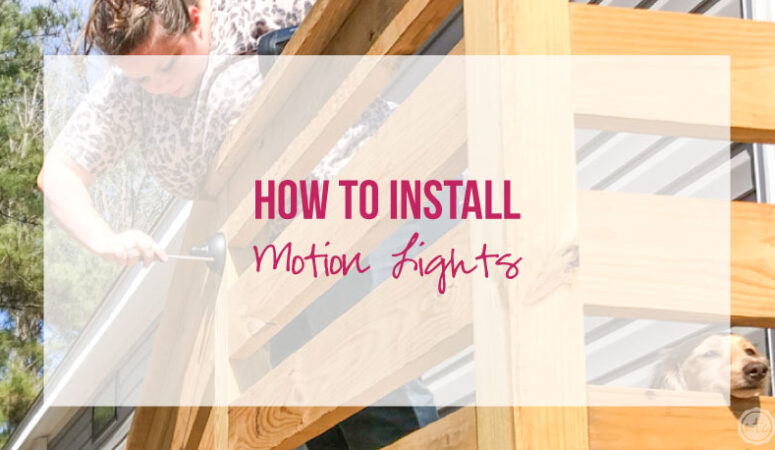 How to Install Motion Lights